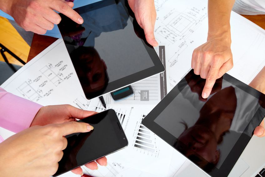 tablettes smartphone nvlles technno communication